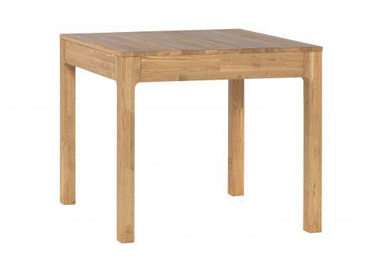 Rozkladací dubový jedálenský stôl Moroni