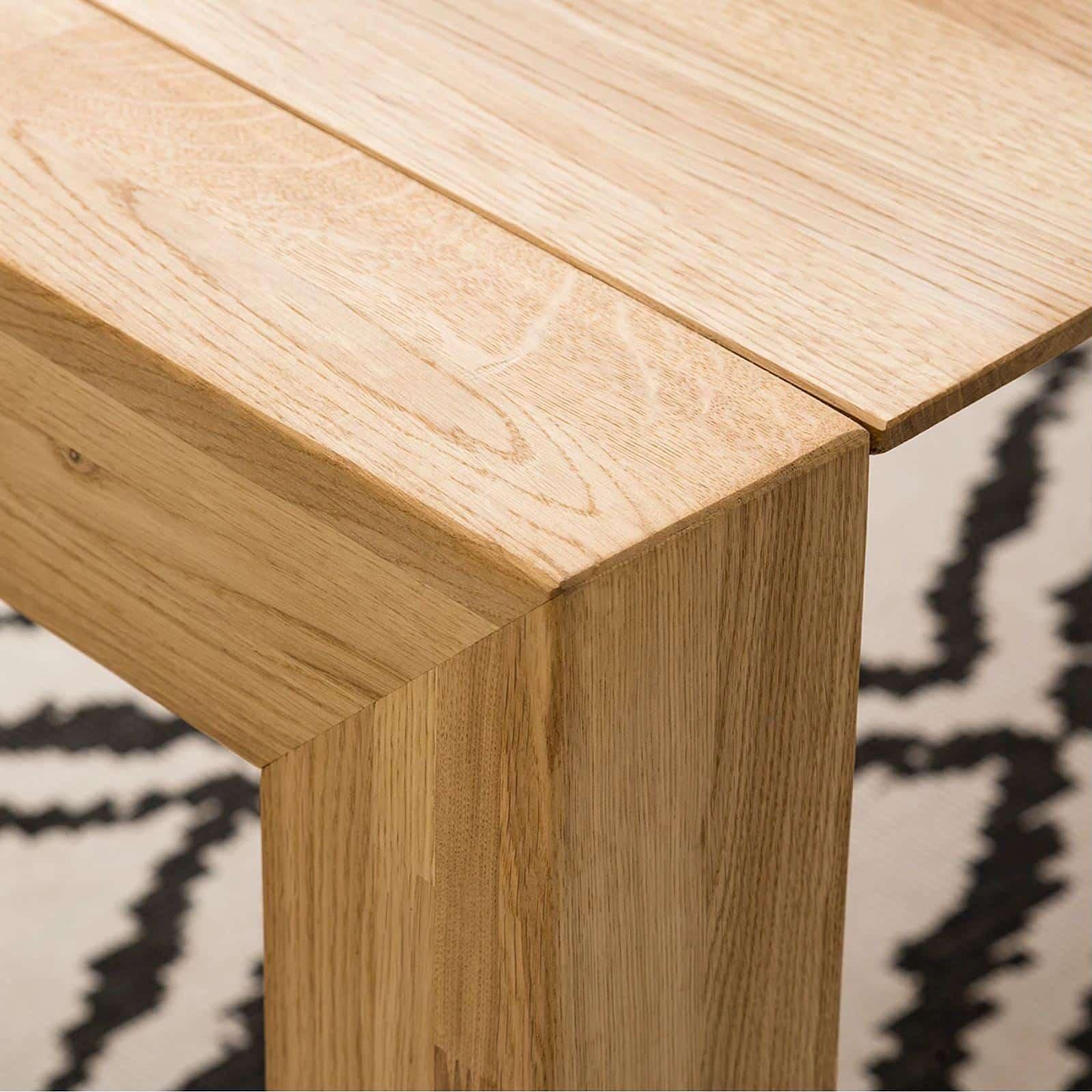 Dubový rozkladací jedálenský stôl Domingo