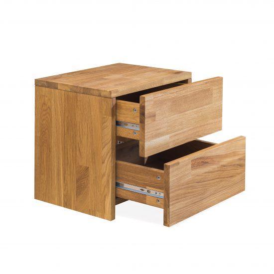 Masivní dubový noční stolek Montana