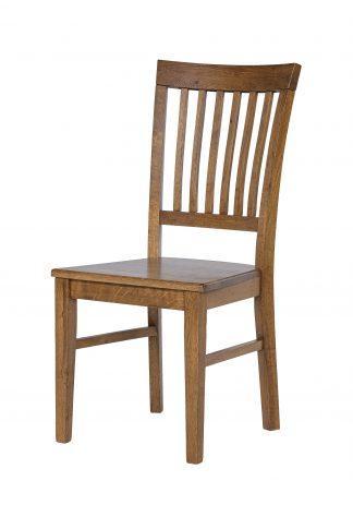 Dubová lakovaná stolička Raines rustik