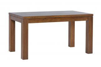 Jídelní lakovaný rustik stůl Korund z masivního dubu (deska 4 cm)